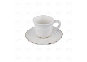 Tazzina da caffè cl. 9 con piattino