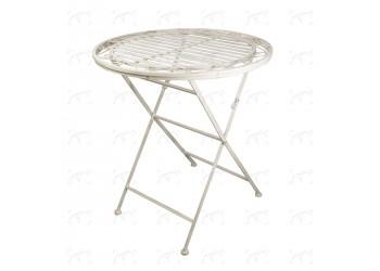 Tavolo in ferro anticato DIAM. 70