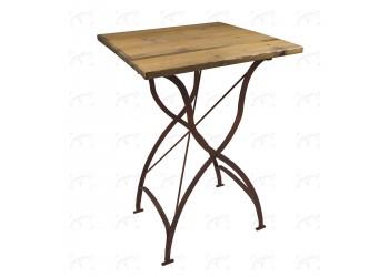 Tavolo Cocktail Bistrot ferro/legno