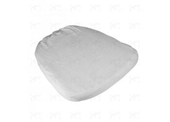 Cuscino Chiavarina Francia Bianco